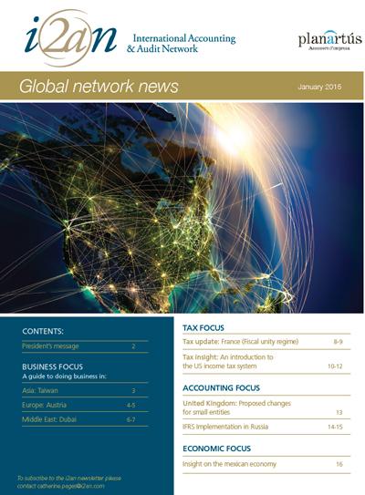 Global Network News - International Accounting & Audit Network